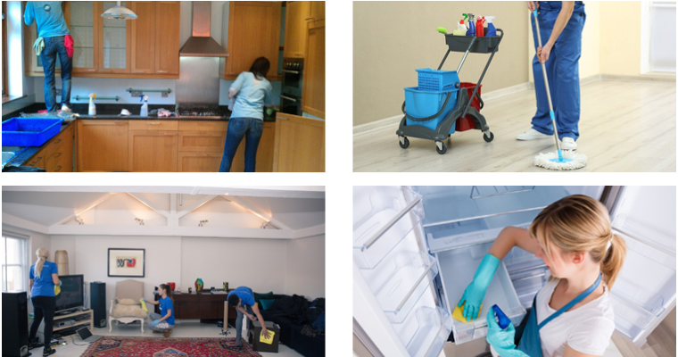 What are the Parts of your Rental Property Included at the End of Tenancy Cleaning Service